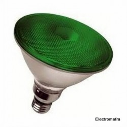 Lâmpada Flood PAR38 80W E27 Verde Philips 01 PAR38-80VD