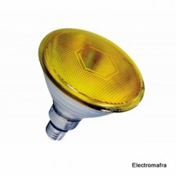 Lâmpada Flood PAR38 80W E27 Amarelo Philips 01 PAR38-80AM